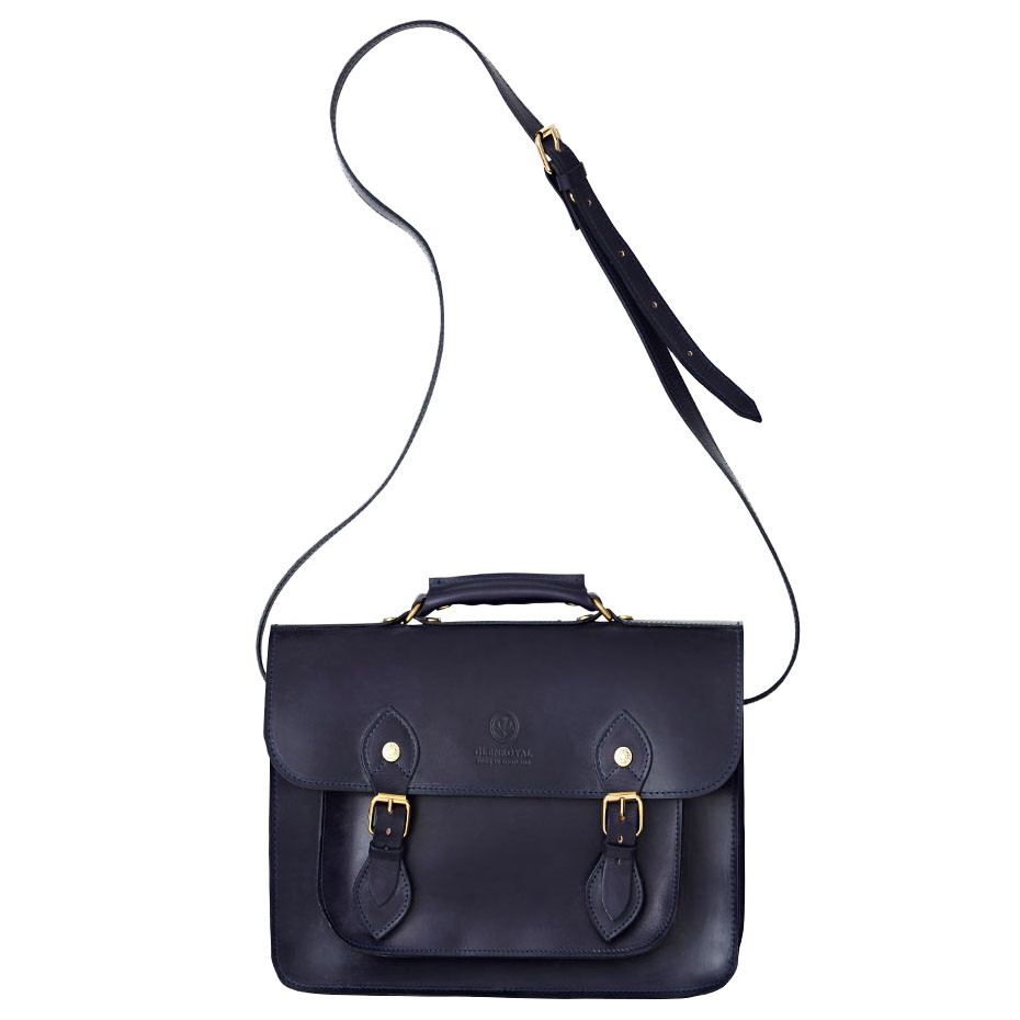 SATCHEL BAG WITH D-RING(13 inch)