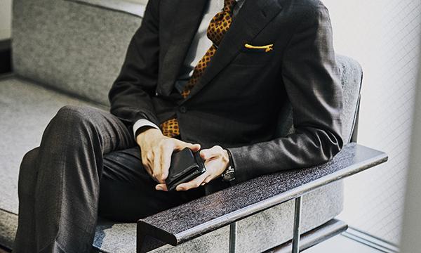 セレクトショップの新鋭プレスが長年愛用するマネークリップ付き財布。