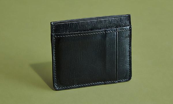 英国のライフスタイルが垣間見えるミニマリストなカードケース SLIM CARD CASE WITH NOTE