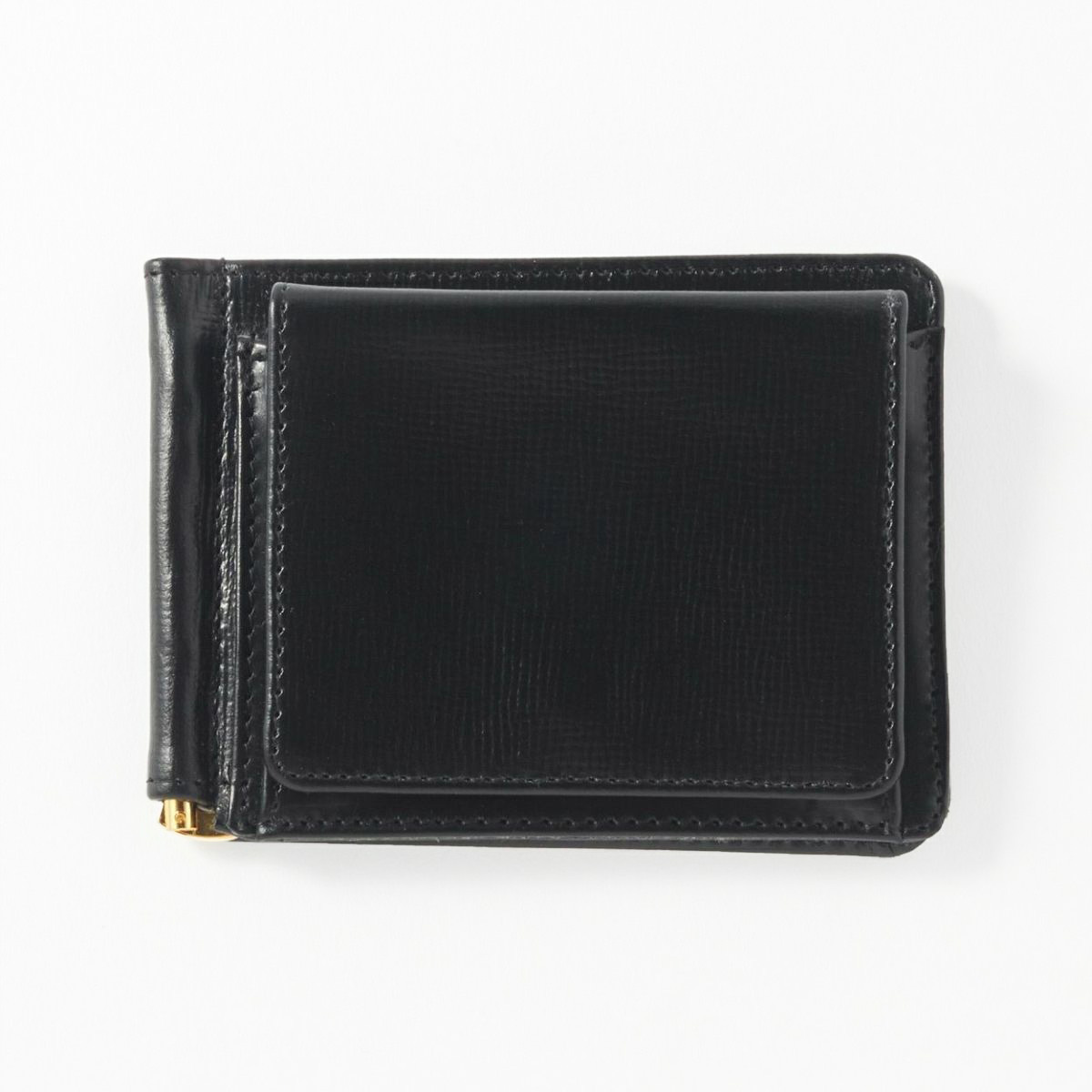 MONEY CLIP WITH COIN POCKET(Lakeland Bridle)