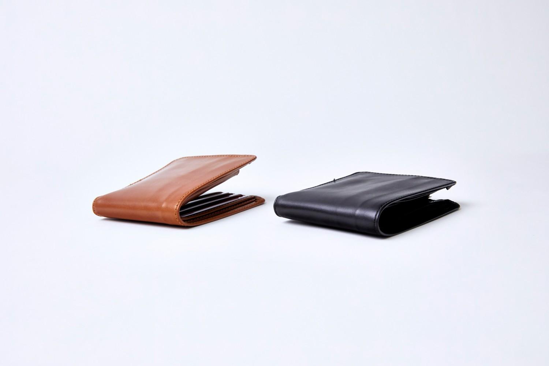 二つ折り財布の使い方 HIP WALLET WITH DIVIDER