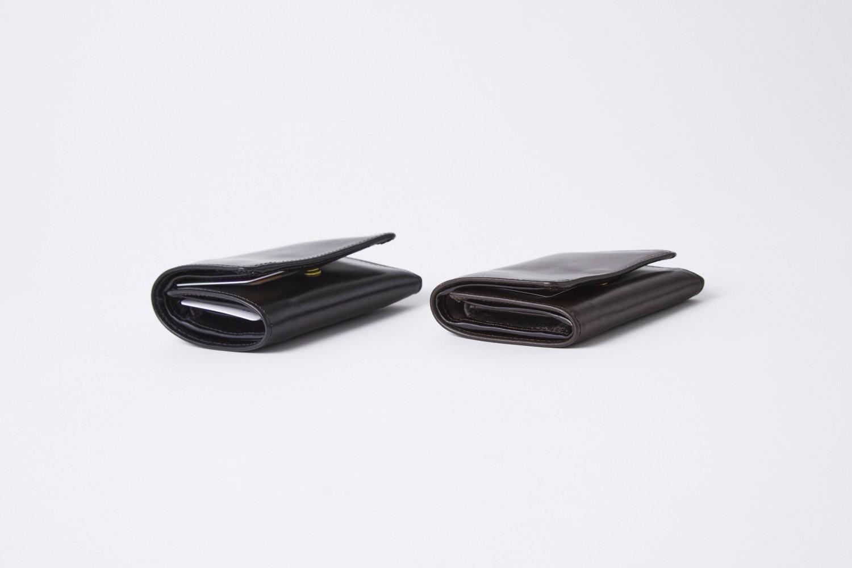 コンパクト三つ折り財布使い方 TRIFOLD SMALL WALLET