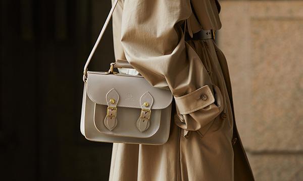 グレンロイヤルのサッチェルバッグが、 どんなスタイルにも似合う理由