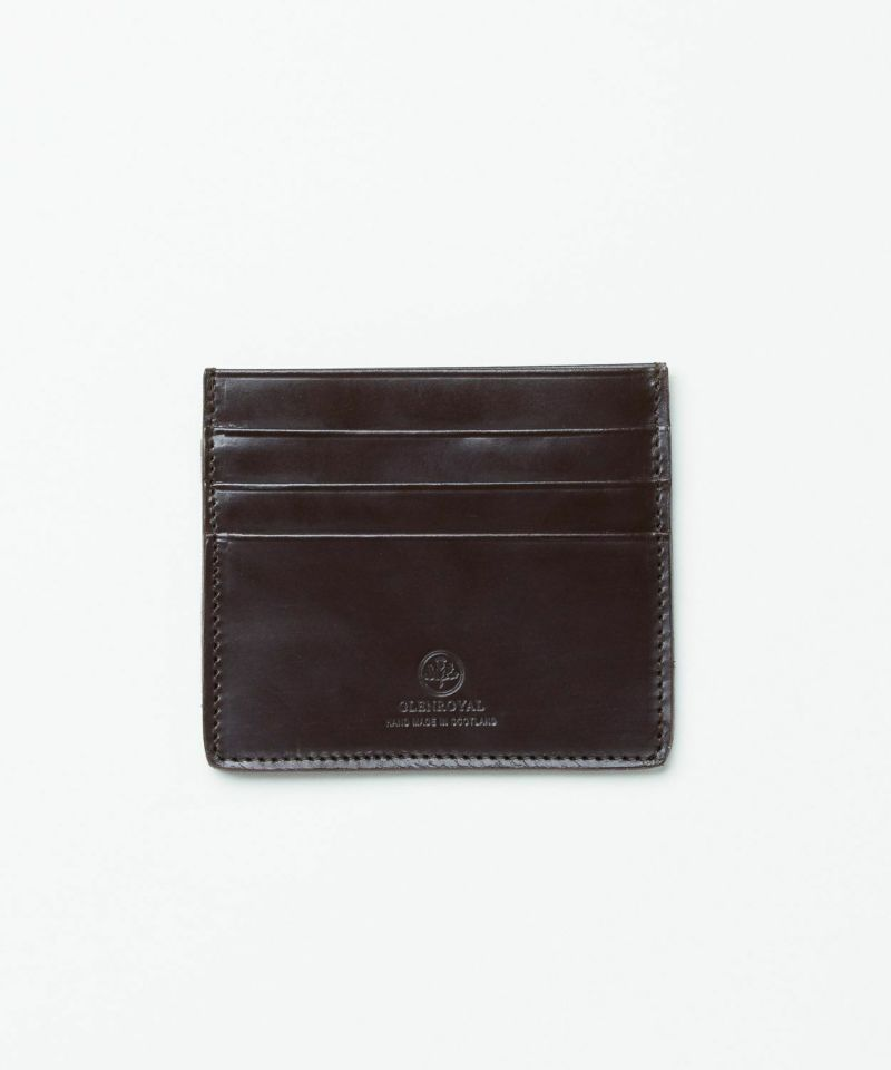 SLIM CARD CASE WITH NOTE(Bridle)