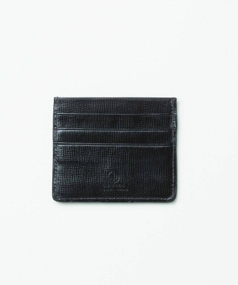 SLIM CARD CASE WITH NOTE(Lakeland Bridle)